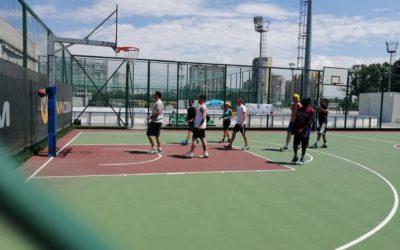 Basketball tournament in Sofia (Bulgaria)